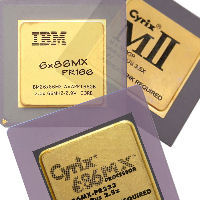 6x86 Gold Top CPU Cyrix IBM STI