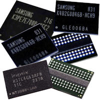 DDR SDRAM Depopulated Chips